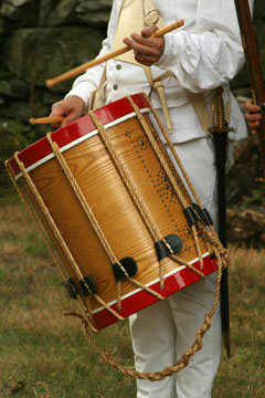 colonial drummer boy